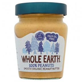 Crema de Cacahuete Suave Bio Whole Earth 227 g