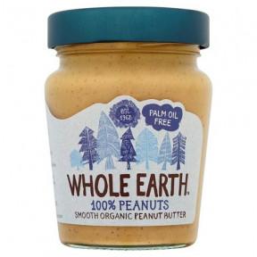 Manteiga de Amendoim Lisa Orgânica Whole Earth 227 g
