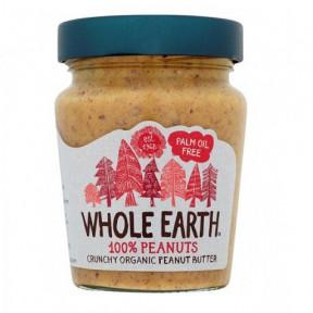 Whole Earth Crunchy Organic Peanut Butter 227 g