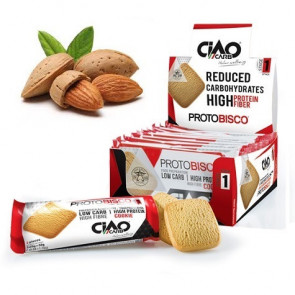 Pack de 10 Biscuits CiaoCarb Protobisco Phase 1 Amandes