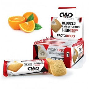 Pack de 10 Galletas CiaoCarb Protobisco Fase 1 Naranja