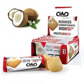 Pack de 10 Biscuits CiaoCarb Protobisco Phase 1 noix de Coco