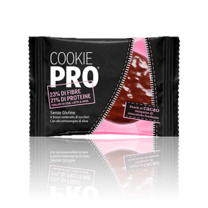 Galleta Cookie Pro Cacao Cubierta de Chocolate Negro Alevo 13,6 g