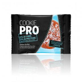 Cookie Pro Recouvert de Chocolat au Lait et Noix de Coco Alevo 13,6 g