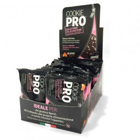 Pack of 24 Alevo Cookie Pro Cocoa Covered in Dark Chocolate