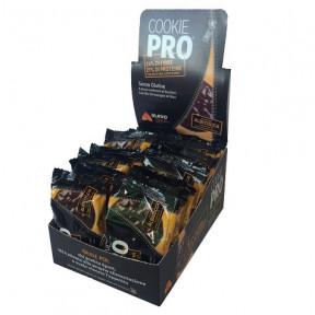 Pack de 24 Biscoitos Alevo Cookie Pro Damasco Cover Coberto com Chocolate Preto