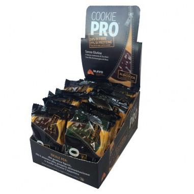 Pack de 24 Cookies Pro Abricot Recouverts de Chocolat Noir Alevo sur OutletSalud.com