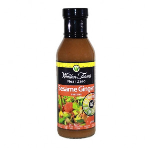 Salsa de Sésamo y Jengibre Walden Farms Near Zero 355 ml