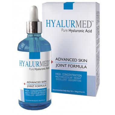 Hyalurmed Pure Hyaluronic Acid 100ml Drops