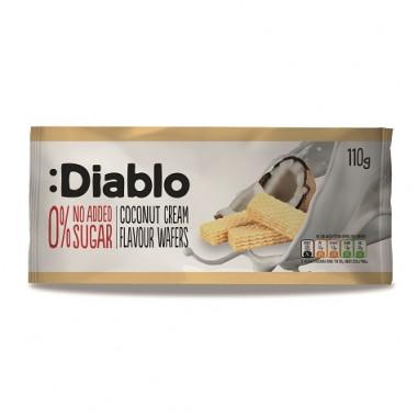 Bolachas Recheadas Com Creme De Coco sem Adição de Açúcar :Diablo 110 g