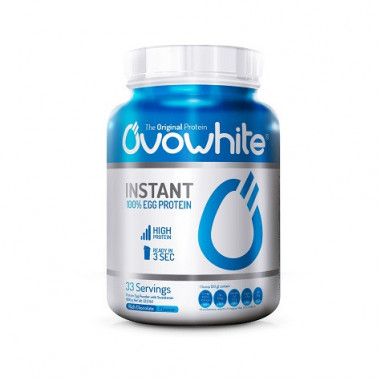 Protéine instantanée Blanc d'œuf arôme naturel OvoWhite 453g