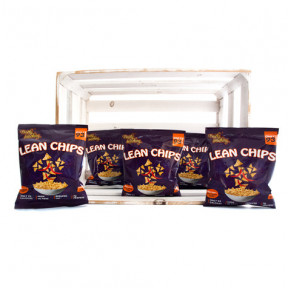 Pack de 36 Lean Chips (Nachos Proteinados) Thai Sweet Chilli Purely Snacking