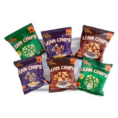 Pack Variado de Lean Chips (Nachos Proteinados) 36 Paquetes