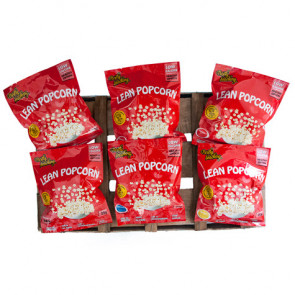 Pack Variado de Lean Popcorn Palomitas Proteinadas 36 Paquetes