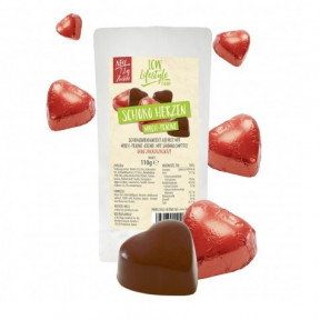 LCW 110 g low-carb milk chocolate and praline candies