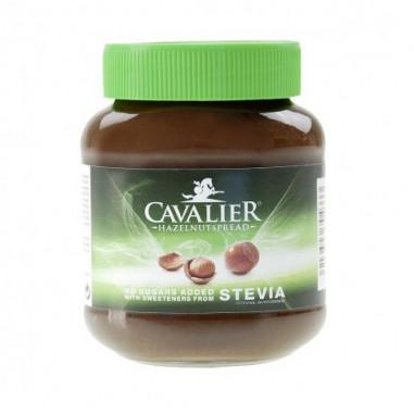 Crème au Chocolat avec Noisettes avec Stevia Cavalier 380 g