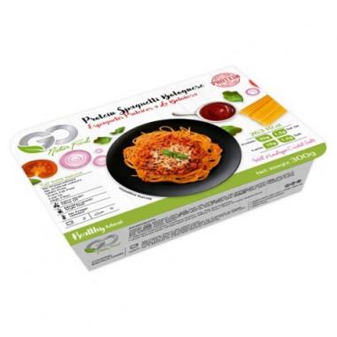 Espaguetis Proteicos a la Boloñesa Go Natur Food 300 g