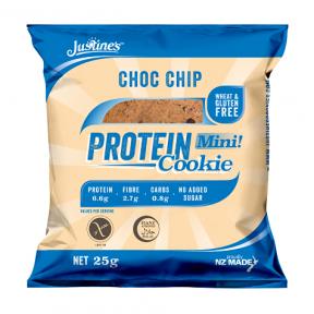 Biscoito de Proteína com Gotas de Chocolate Justine's 64 g