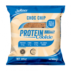 Galleta Proteica con Pepitas de Chocolate Justine's 64 g