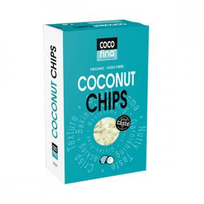 Chips de Coco Orgânicos Cocofina 250 g
