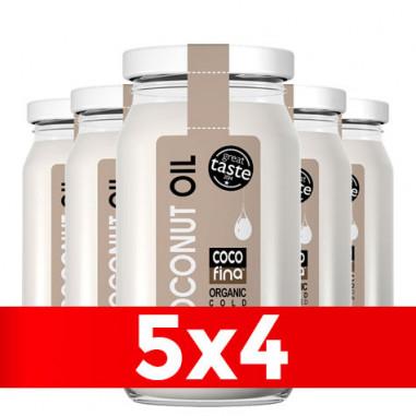 Aceite de Coco Virgen Orgánico Cocofina Envase Cristal 350 ml