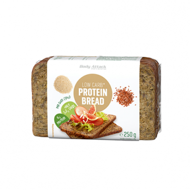 Body Attack 250 g low carb breakfast bread with seeds