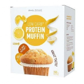 Preparado para Muffin Proteico LowCarb Body Attack Limón 150g