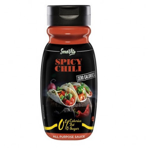 Salsa Chili Picante 0% Servivita 320 ml