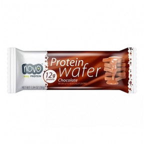 Protein Wafer Sabor Chocolate 38g Novo Nutrition