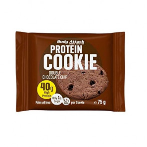 Biscoito de Proteica de Chocolate Duplo Body Attack 75 g