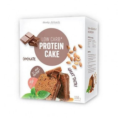 Préparation pour Gâteau Protéiné LowCarb Body Attack Chocolat 150g