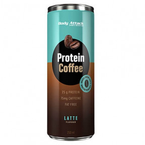 Bebida de Café de Proteína Protein Coffee sabor Latte Body Attack 250 ml