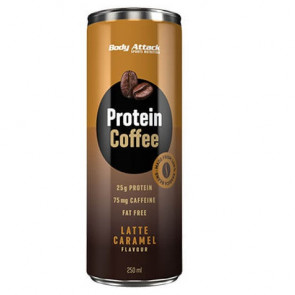 Bebida de Café de Proteína Protein Coffee sabor Latte Caramel Body Attack 250 ml