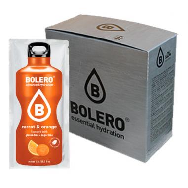 Pack 24 sobres Bebidas Bolero Naranja y Zanahoria - 20% dto. directo al pagar