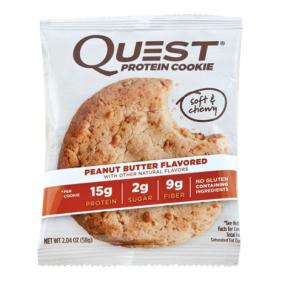 Galleta Proteica de Crema de Cacahuete Quest Nutrition 59 g