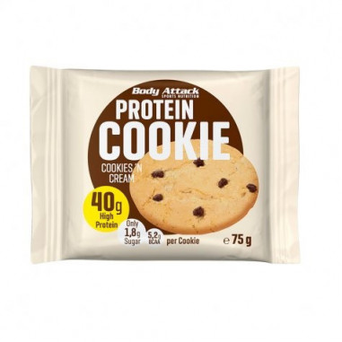 Body Attack Cookies and Cream Protein Cookie 75 g