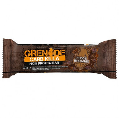 Barrita de Proteína Carb Killa sabor Brownie Derretido Grenade 60 g