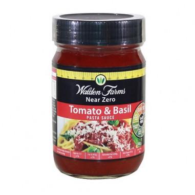 Salsa de Tomate y Albahaca Walden Farms, 340 g