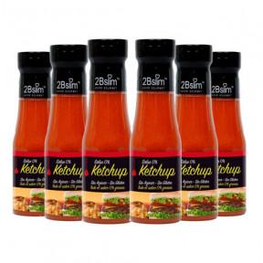 Pack de 6 Salsa Ketchup 0% 2bSlim 250 ml