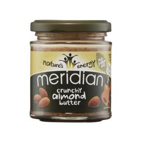 Crunchy Almond Butter Meridian 170 g