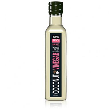 Vinagre de Coco Ecológico sabor Nuez Moscada Cocofina 250 ml