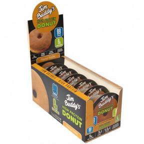 Pack de 6 Donuts Protéinés Beurre de Cacahuète Jim Buddy's