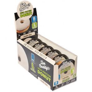 Pack de 6 Donut Proteico Sabor Vainilla Jim Buddy's
