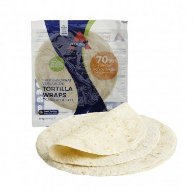 Tortillas Proteicas (Wraps) LowCarb Atkins 160 g