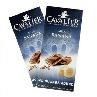 Cavalier Milk Chocolate and Banana 85 g