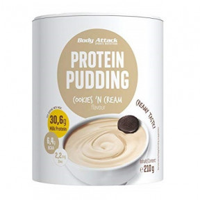 Body Attack Cookies & Cream Protein Pudding 210g
