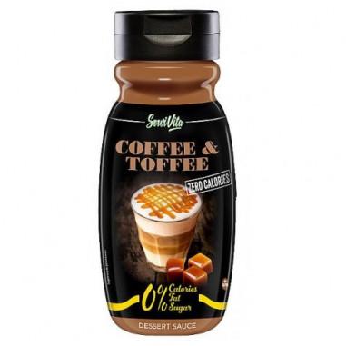 Sirope de Café y Caramelo 0% Servivita 320 ml