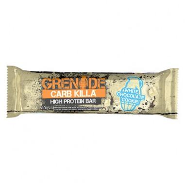 Barre Protéinée Carb Killa goût Chocolat Blanc Grenade 60 g