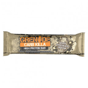 Barrita Proteica Carb Killa sabor Galleta de Chocolate Blanco Grenade 60 g