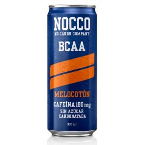 Bebida Low-Carb con BCAA y Cafeína sabor Melocotón Nocco 330 ml